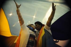 Marcha do Dia Mundial do Orgulho LGBt no Rio de Janeiro. Foto de Fernando Frazão para a Agência Brasil. Alguns direitos reservados.